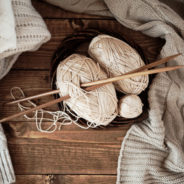 Before Your Write a Book, Knit a Sweater
